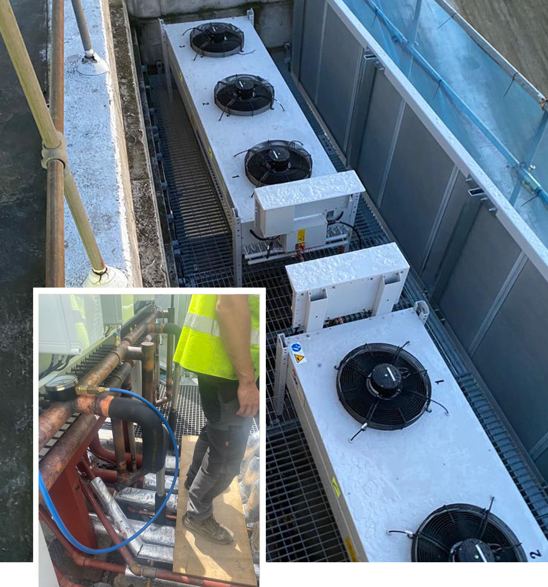 water chillers install in London at Great Ormond Street hospital